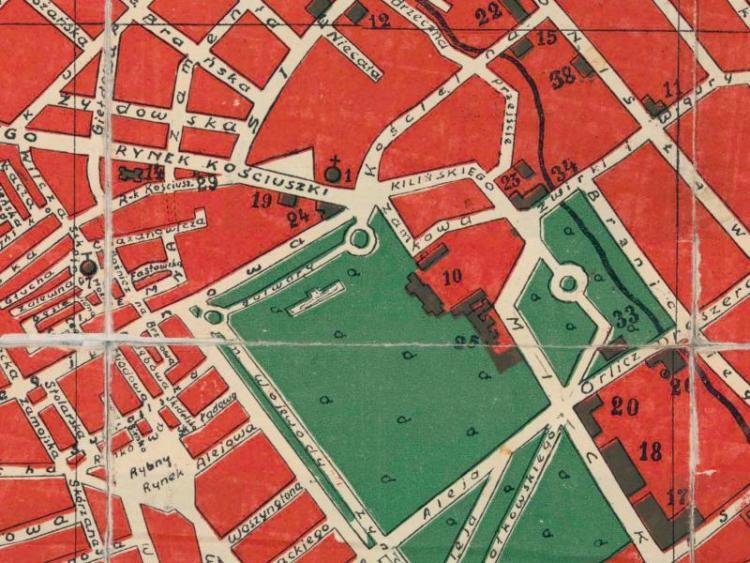 Plan Miasta Białegostoku z 1938r.
