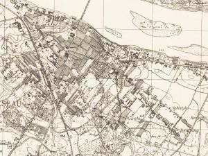 Mapa Włocławka z 1944r.