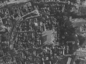Zdjęcie lotnicze Warszawy (nr 3616) z 1944r.