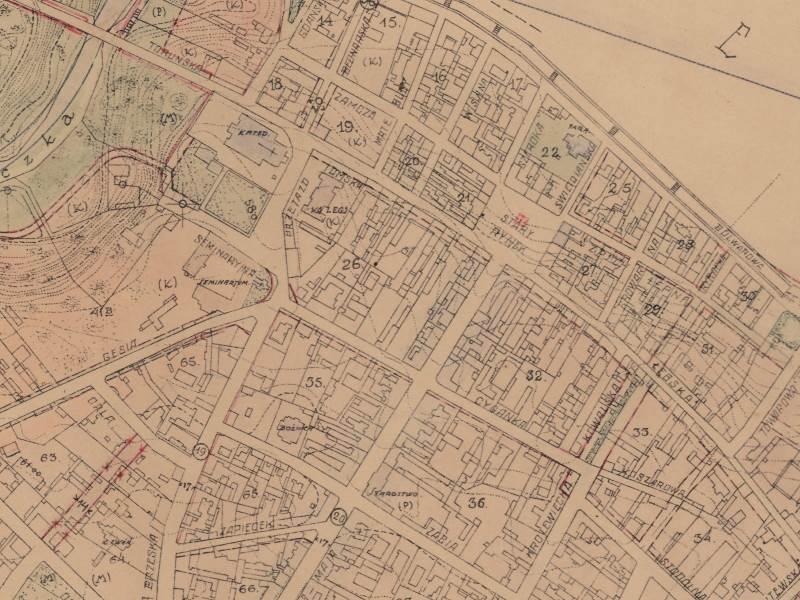 Plan Miasta Włocławka z 1924r.