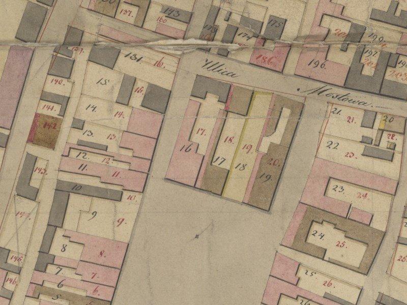 Plan Miasta Częstochowy z 1823r.