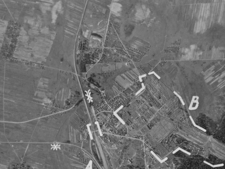 Zdjęcie Hajnówki z 1944r.