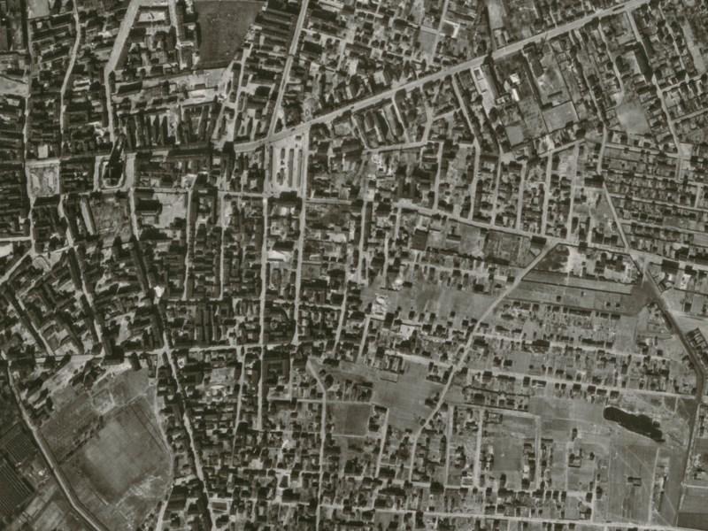 Zdjęcie lotnicze Łodzi z 1942r. (2)