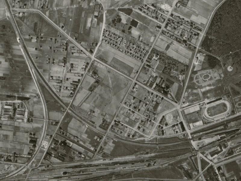 Zdjęcie lotnicze Łodzi z 1942r. (10)