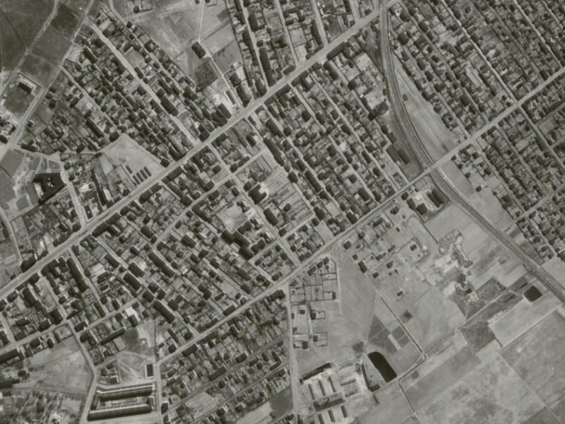 Zdjęcie lotnicze Łodzi z 1942r. (16)