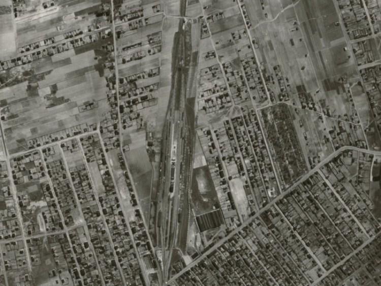 Zdjęcie lotnicze Łodzi z 1942r. (17)