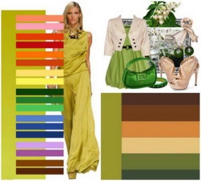مجموعات الألوان في الملابس من النظرية إلى الممارسة اختيار