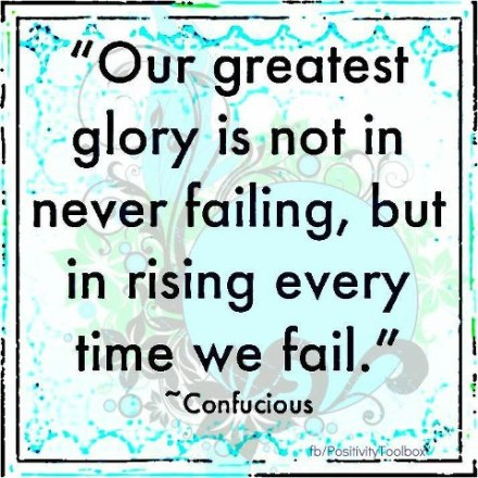 about failing