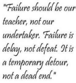 about failure
