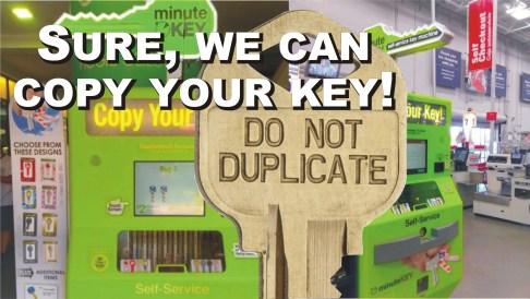 KEYS - Starfleet Lock & Safe, Inc