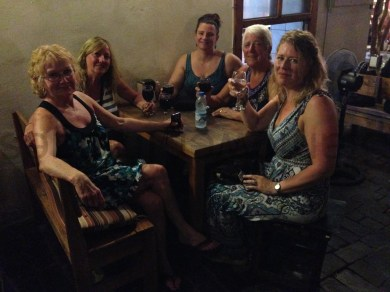 A drink or two with the girls