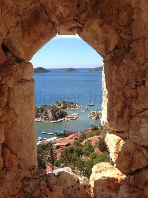 Silema Castle, Kas, Turkey