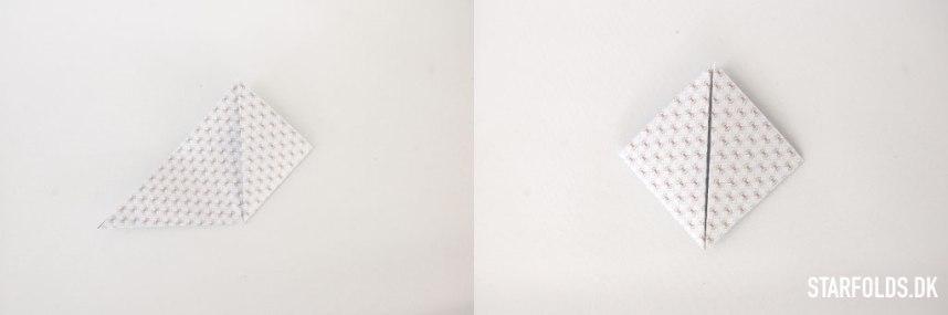 Trin 2 DIY geometriske æsker i papir