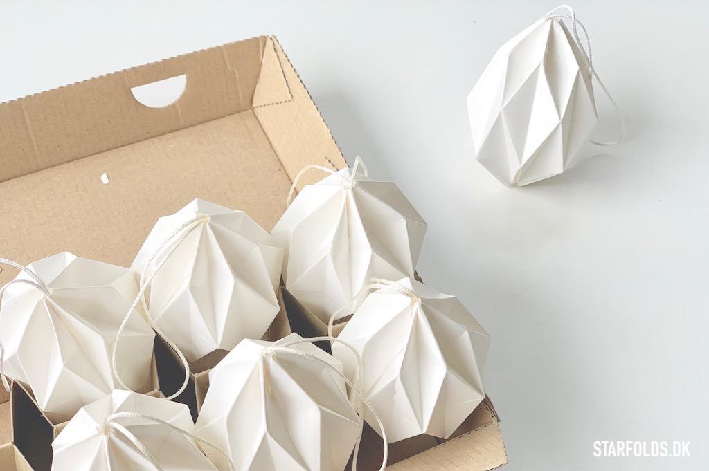 DIY Paaskeaeg foldet i papir