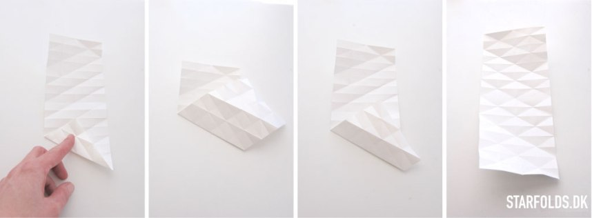 Paaskeaeg_foldet_i_papir_trin_fem_venstre_side