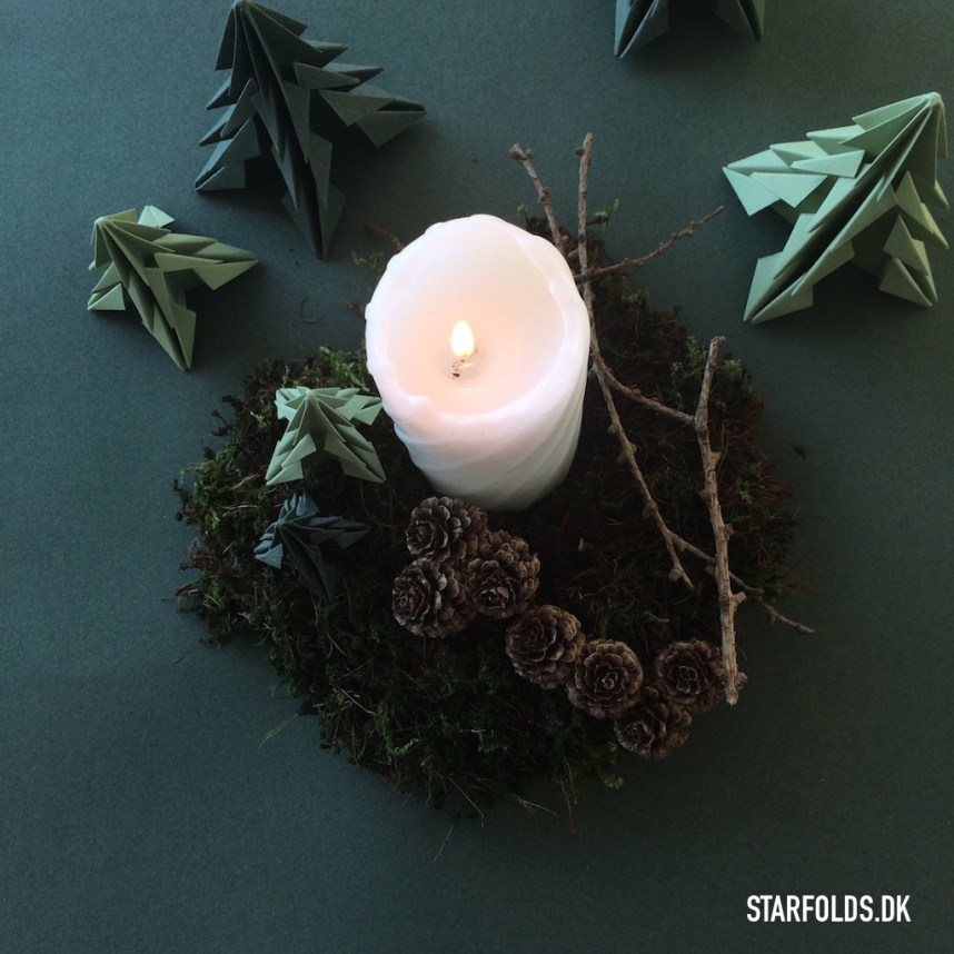 DIY juletræer i papir