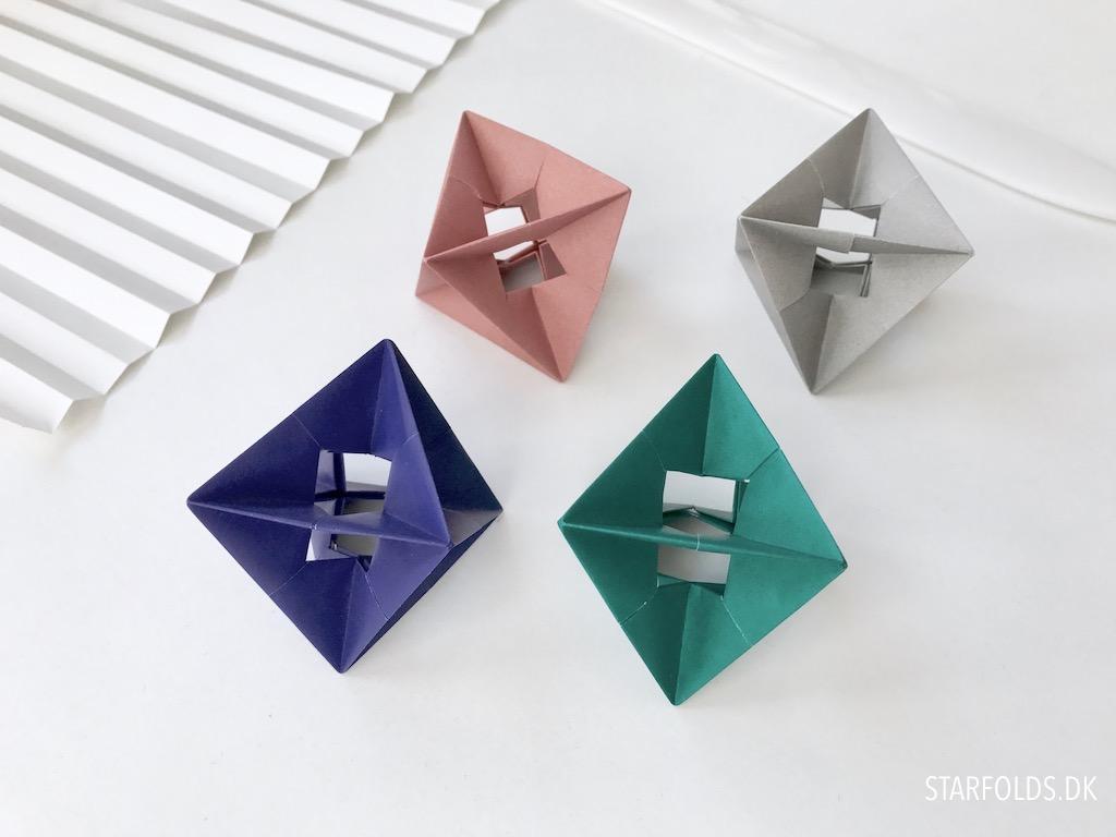 Fold selv - enkel origami pynt