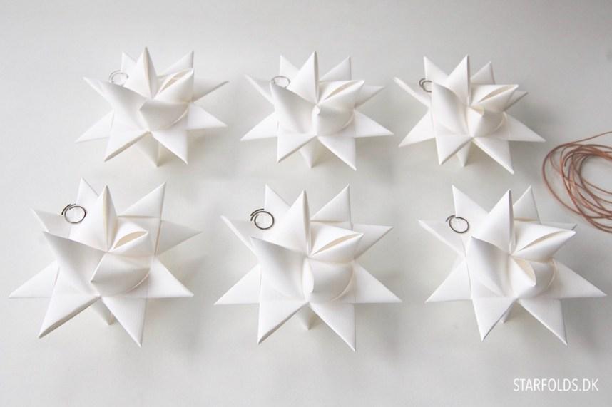 DIY Kit til hvide julestjerner