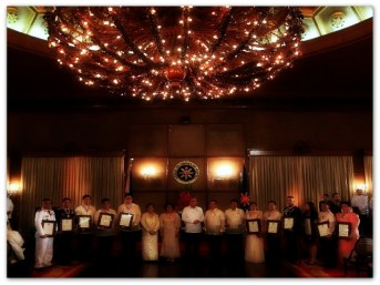 AWARDS - Vi at Malacañang with PNoy 2013