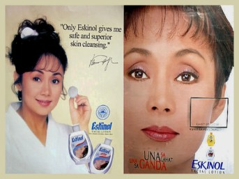 ARTICLES - product endorsement eskinol 1990s