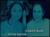 Vi with Charito Solis