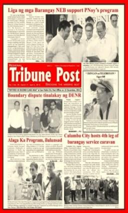 COVER - 2014 Tribune Post