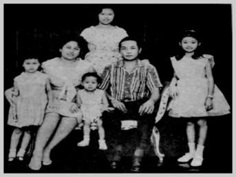 MEMORABILIA - 1960s Vilma Santos' Family