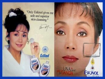MEMORABILIA - product endorsement eskinol 1990s