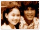 MEMORABILIA - Vilma with Victor Wood circa 1970s