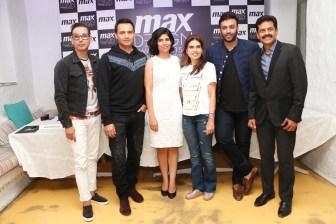 (L-R) Troy Costa, Marc Robinson, Kamakshi Kaul, Monisha Jaisingh, Nikhil Thampi, Vasanth Kumar (2)