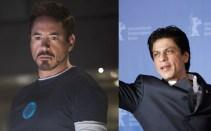 Robert Downey Jr - Shahrukh Khan