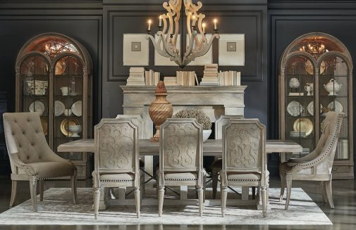 Arch. Salvage Traditional Dining Room