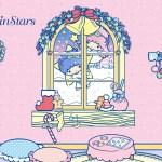 受保護的內容: Little Twin Stars Wallpaper 2015 十一月桌布 日本官方四十周年系列