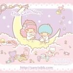 受保護的內容: Little Twin Stars Wallpaper 2011 五月桌布 日本 SanrioBB Present