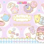 受保護的內容: Little Twin Stars Wallpaper 2011 九月桌布 日本 SanrioBB Present