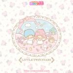 受保護的內容: Little Twin Stars Wallpaper 2013 三月桌布 日本 SanrioBB Present