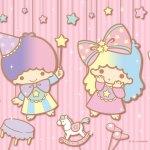 Little Twin Stars Wallpaper 2019 四月桌布 日本官方Twitter愚人節版
