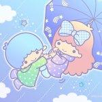 Little Twin Stars Wallpaper 2019 六月桌布 日本官方Twitter雨季版