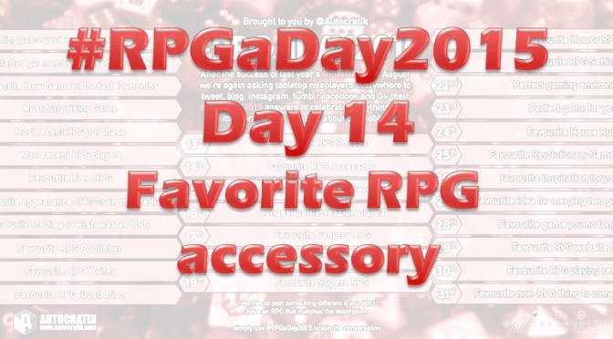 RPG a Day 2015 Challenge – Day 14