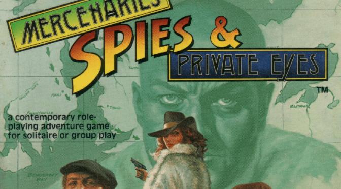 Mercenaries, Spies and Private Eyes