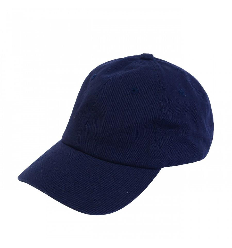 Custom Classic Dad Hat (Embroidered with Logo) - Navy - AF2011