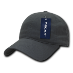 Custom Relaxed Classic Dad Hat (Embroidered with Logo) - Charcoal - Decky 205