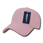 Custom Relaxed Classic Dad Hat (Embroidered with Logo) - Pink - Decky 205
