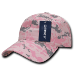 Custom Cotton Camo Baseball Hat (Embroidered with Logo) - PKD Camo - Decky 216
