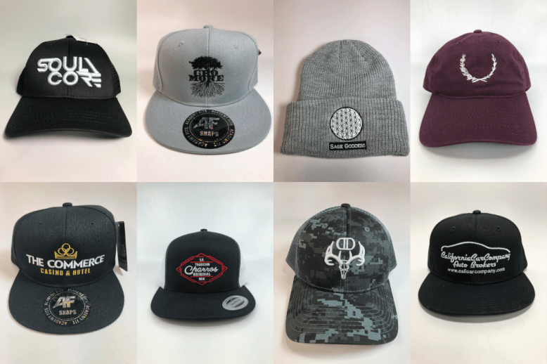 We specialize in custom hats, custom hat embroidery, embroidered hats, wholesale hat embroidery, wholesale embroidered hats, wholesale custom hats, bulk custom hats, bulk embroidered hats, bulk custom hat embroidery, and more.