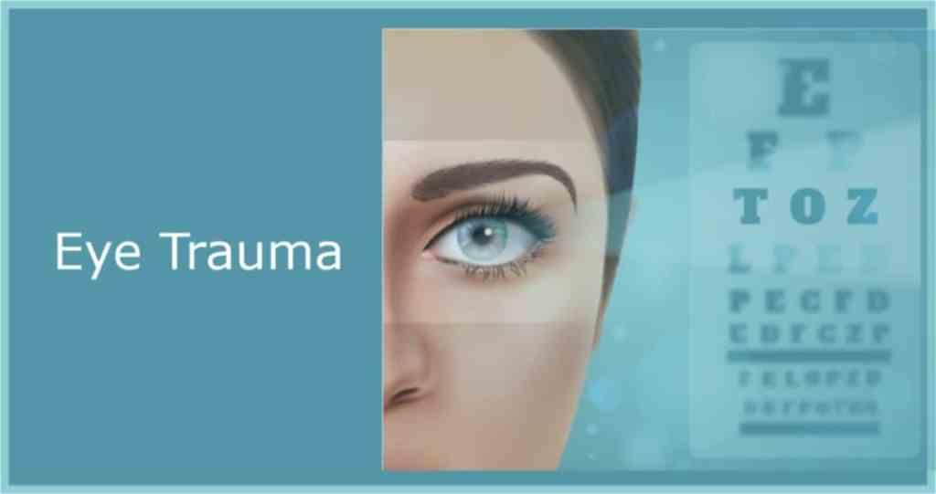 blunt eye trauma