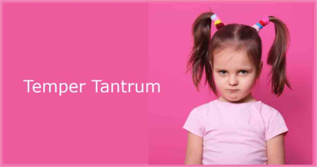 How to deal with 2 year old temper tantrums