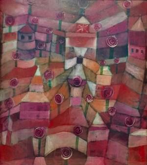 Paul Klee - Rosengarten. 1920, 44. Städt. Galerie im Lenbachhaus, München © starkandart.com