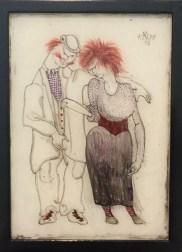 Paul Klee - Verkommenes Paar, 1905,3. Zentrum Paul Klee, Bern © starkandart.com