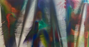 Detail from Katharina Grosse Picture © starkandart.com